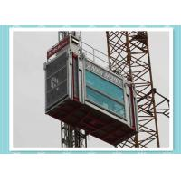Quality Heavy Load Capacity Man And Material Hoist , High Speed Construction Hoist for sale