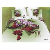 Quality Floral Bedding Set with Printed Designs for sale