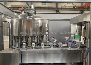 Quality 4000CPH 330ml Carbonated Beverage Filling Machine Food Grade for sale