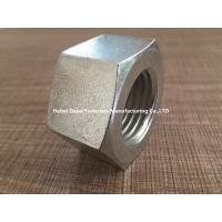 Quality Mechanical Machine Steel Hex Nuts M24 Size White Color With High Strength for sale