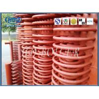 China Alloy Steel Boiler Parts Economiser Tubes With Welded Headers For Power Station Boilers for sale