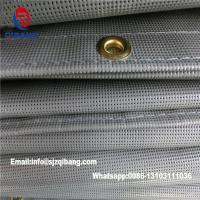 Quality PVC coated Polyester safety mesh sheet /Japan fire retardant mesh for sale