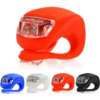 China 2016 Hot sales Bicycle Accessories silicone bike light led bicycle lights on sale