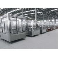 Quality Soda Beverage Filling Machine Automatic Capping Equipment 4.4-13KW Power for sale