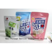 China Stand Up Pouch Personal Care Packaging Bag For Jelly / Pet Food and Washing Powder on sale