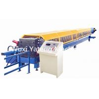 Quality High Efficiency Mobile Stainless Steel Roll Forming Machine , Gutter Maker Machine 11m * 1.5m * 1.5m Size for sale