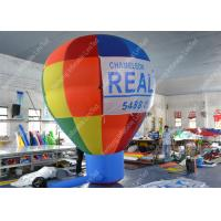 Quality Waterproof Inflatable Advertising Balloons 300D Oxford Cloth For Promotional Activity for sale