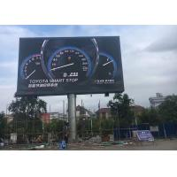 China RGB Advertising Moving LED Screen /  Stadium LED Message Display Board on sale