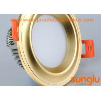 Quality Commercial Golden COB LED Downlight Dimmable IP20 Rating For Supermarket for sale
