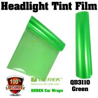 Quality Car Headlight Tint Film 3 layers 0.3*10m/roll - Green for sale
