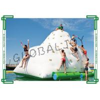 China Iceberg Pool Float Inflatable Water Iceberg Floating Climbing Wall on sale