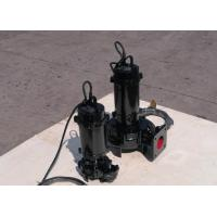 Quality Portable Submersible Non Clog Sewage Pump , Single Stage Stainless Steel Centrifugal Pump for sale