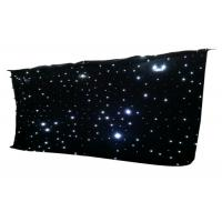 Quality IP33 LED Curtain Lights Star Cloth Backdrops For Nightclub Stage Wedding Decoration for sale