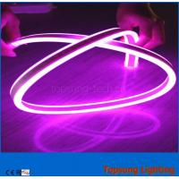Buy cheap pink color 240V LED double-sided flexible neon strip light 8*17mm outdoor use from wholesalers