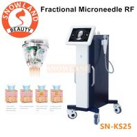 China Best selling !!! Fractional RF microneedle / micro needle stretch marks removal machine on sale