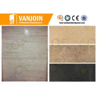 China Natural Colors Composite Sandwich Panel For Exterior Wall Decoration , Heat Insulation on sale