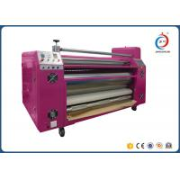 Best Automatic Sublimation Pink Oil  Roller Heat Transfer Machine CE wholesale