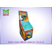 Best Cartoon Prinitng Design 2 TiersB flute Cardboard Floor Display With small flaps for book stores wholesale