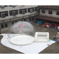 Quality High Strength Giant Transparent Inflatable Bubble Tent With High Polymer For Party for sale