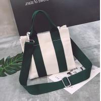 Quality Wholesale Creative Eco-friendly Cotton Canvas Tote Cross-body Bag for sale