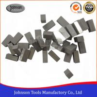 China Various Sizes Diamond Gang Saw Segments for Granite / Marble Cutting on sale