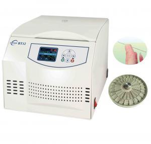 Quality 24PCS Capacity Hematocrit Centrifuge Machine Adjustable RCF Range for sale