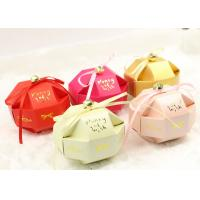 Best Cute small assemble paper box for candy and snacks of wedding gift wholesale