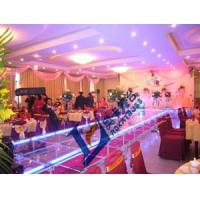 China supply aluminum mobile stage / aluminum assemble wedding decoration glass stage on sale