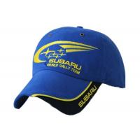 Quality Motorcycle Men Racing Baseball Caps Unisex Blue Color With Logo Printing for sale
