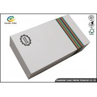 Buy cheap Customized Paper White Cardboard Gift Boxes For Apparel Packaging Manufacture from wholesalers