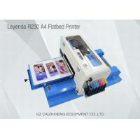 China Offset A4 Small Format UV Flatbed Printer , 1440dpi Eco Solvent Printing Machine on sale