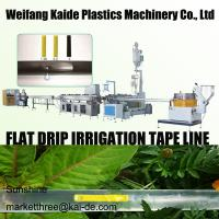 Best 180m/mim Inline Flat Drip Irrigation Tape Extrusion Line KAIDE factory wholesale