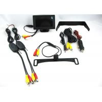 Quality 170° Wireless Backup Camera System With Night Vision And TFT LCD Digital Panel for sale