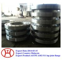 Quality ASTM A182 F11 F22 F91 F9 F5 WN SO SW blind plate lap joint flange forging disc ring bleed ring for sale