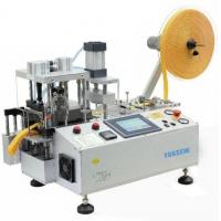 Quality Automatic Webbing Cutting Machine with Hole Punching and Stacker FX-150LR for sale