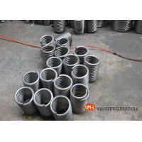 China Coiling For Heat Exchange / Air Conditioner Evaporator Coil Location Coiled Stainless Steel Tube on sale