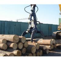 Quality 1.0m³ Excavator Grab Attachment Orange Peel Grab Bucket  for Loading Logs and Timbers for sale