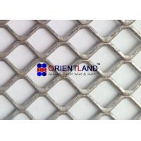 Quality Light Duty Raised And Flat Expanded Metal Mesh , Construction Metal Mesh Rolls for sale