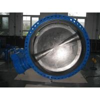 Quality High Performance Stainless Steel Butterfly Valve , Electric Automated Butterfly Valve for sale