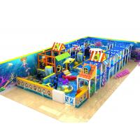 Quality Naughty Castle Kids Playground Equipment For Play Center , Outdoor Training Place for sale