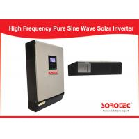 Best Parallel Operation Solar Power Inverters Up To 6 Units Efficiency Max 98 % wholesale