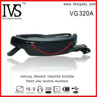 Quality 72inch hdmi video glasses goggles with AV input, connect with PS3, WII for sale