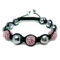 Best Elegant & unique fashion design Czekh Crystal Shamballa Crystal Beads Bracelet wholesale