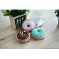 China Kids Donut  Mint Soft Toy Keyring , Cotton Food Plush Toy For Key Accessory on sale