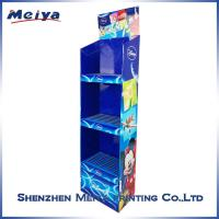 Best Cardboard Corrugated 4C offset printing Customized Cardboard Display for Skin Protect wholesale