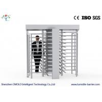 China Full Height Rotating Pedestrian Turnstile Gate , Automatic Turnstile Security Systems on sale