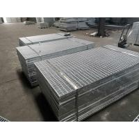 Quality 25x4.5mm Driveway Traffic Steel Floor Grating Covers 3 23x5mm Anti - Slip Places for sale