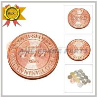 Quality Copper gear coin(24*1.85) for sale