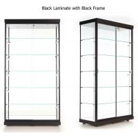 China LED Illuminated Wall Showcase Cabinet , Stand Up Retail Store Display Cases on sale