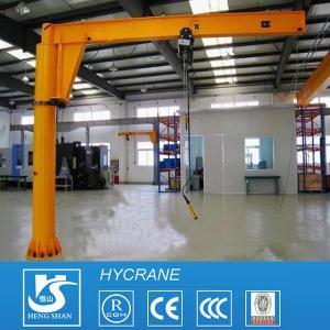 Quality Fixed Column 1ton 3ton 5ton 10ton Pillar Mounted Free Standing Jib Crane Portable Jib Crane for sale